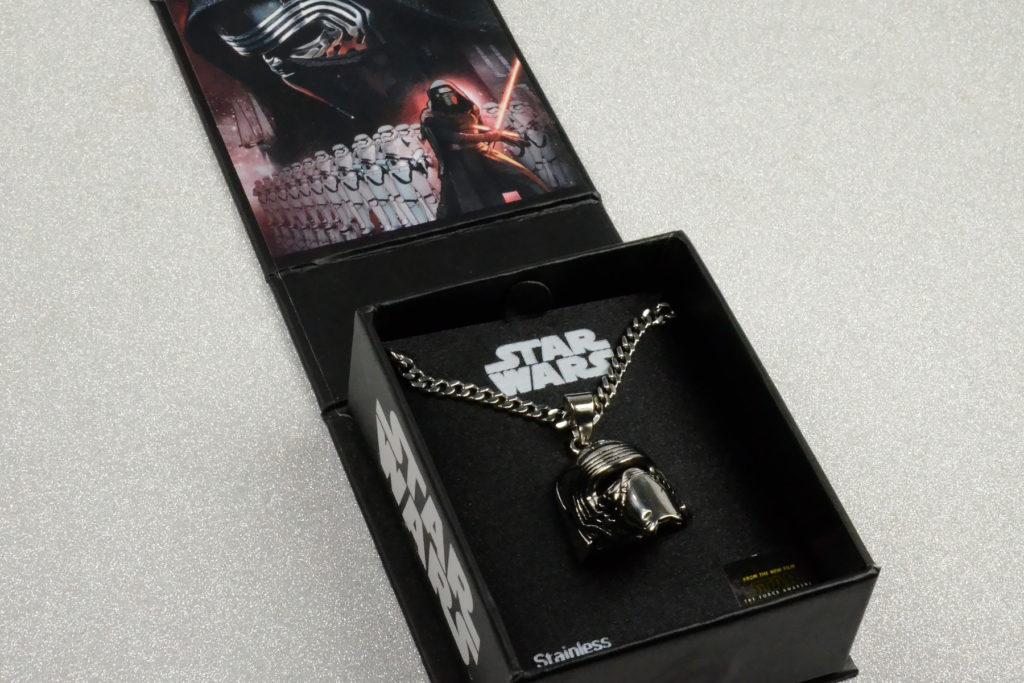 Star Wars Kylo Ren Helmet Necklace
