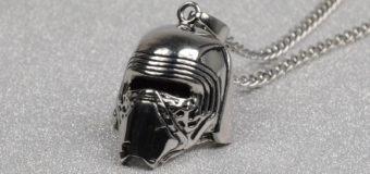 Kylo Ren Helmet Necklace
