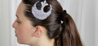 Star Wars Symbol Hair Glitter