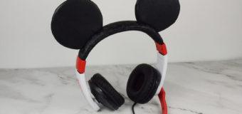My New Mickey Mouse Headphones!
