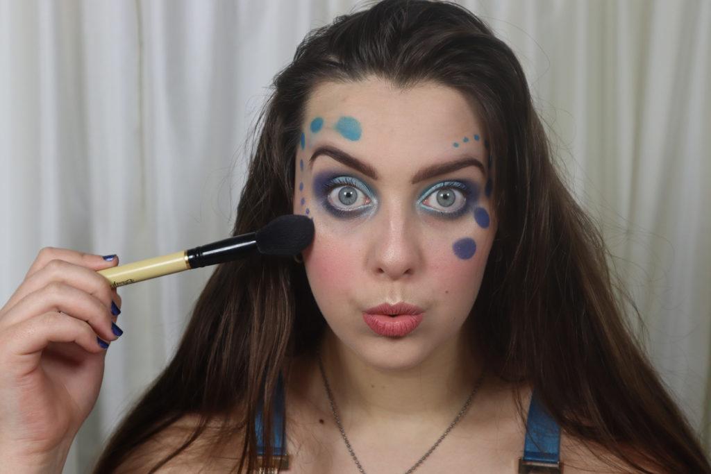 Ocean Bubble Makeup Tutorial