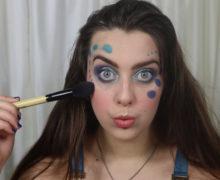 Ocean Bubble Makeup Look